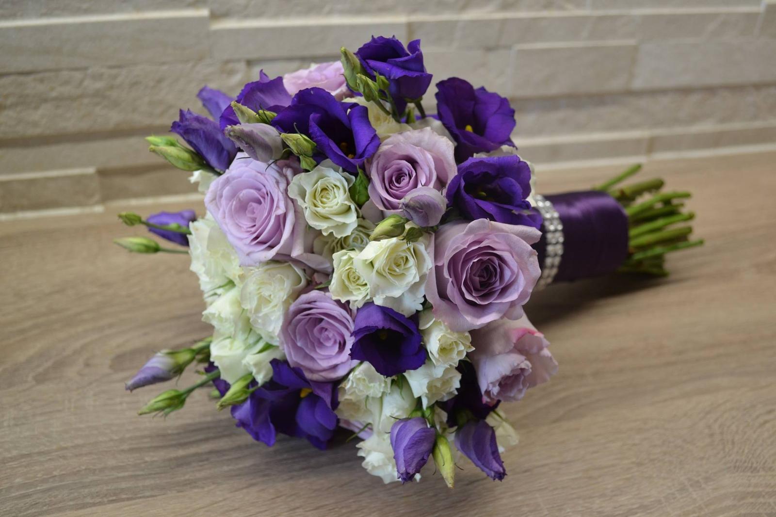 Nejkrásnější svatba - Svatební kytice do hotelu Atlantis Brno