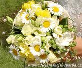 Svatební kytice... pro Jolanu