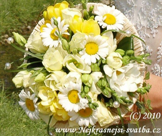 Nejkrásnější svatba - Svatební kytice... pro Jolanu