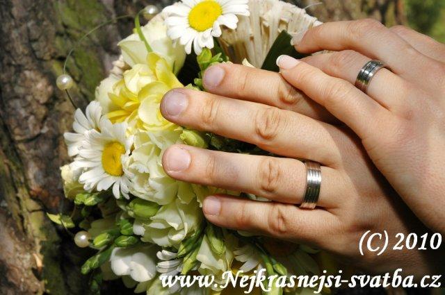 Nejkrásnější svatba - Svatební kytice