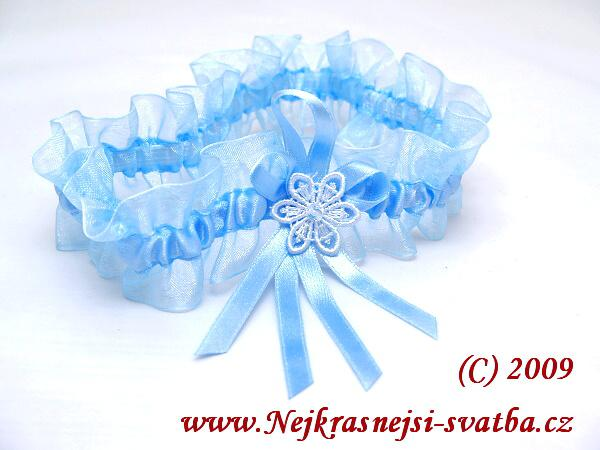 Nejkrásnější svatba - Podvazek modrý