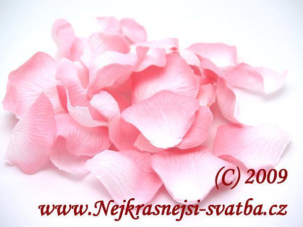 Nejkrásnější svatba - Plátky růží