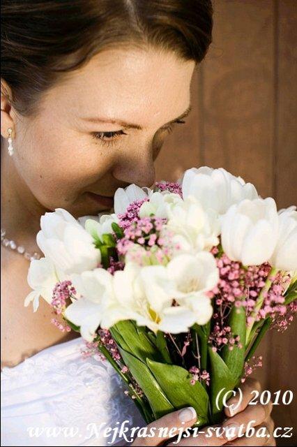 Nejkrásnější svatba - Spokojená nevěsta :-)