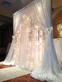 Svatební světelný řetěz - půjčovna,