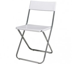 Židle bílá - půjčovna - Obrázek č. 1