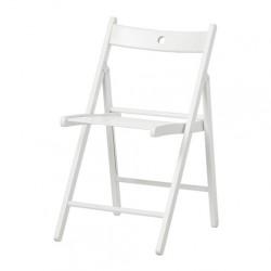 Židle dřevěná bílá - půjčovna - Obrázek č. 1