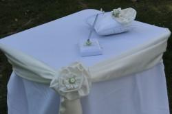 Svatební set Obřadní stolek - půjčovna - Obrázek č. 1