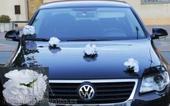 Dekorace na auto Růže - půjčovna,