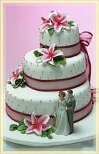 Takový bude dortík.