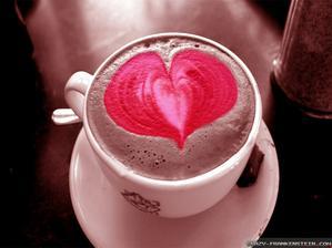dá si někdo kávičku s kapkou lásky