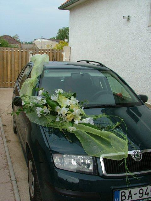 Jarka.z - Tak takto ozdobene auto chcem:-)