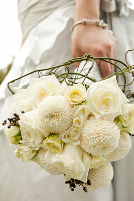 Chryzantemy ako svadobna kytica - Obrázok č. 1