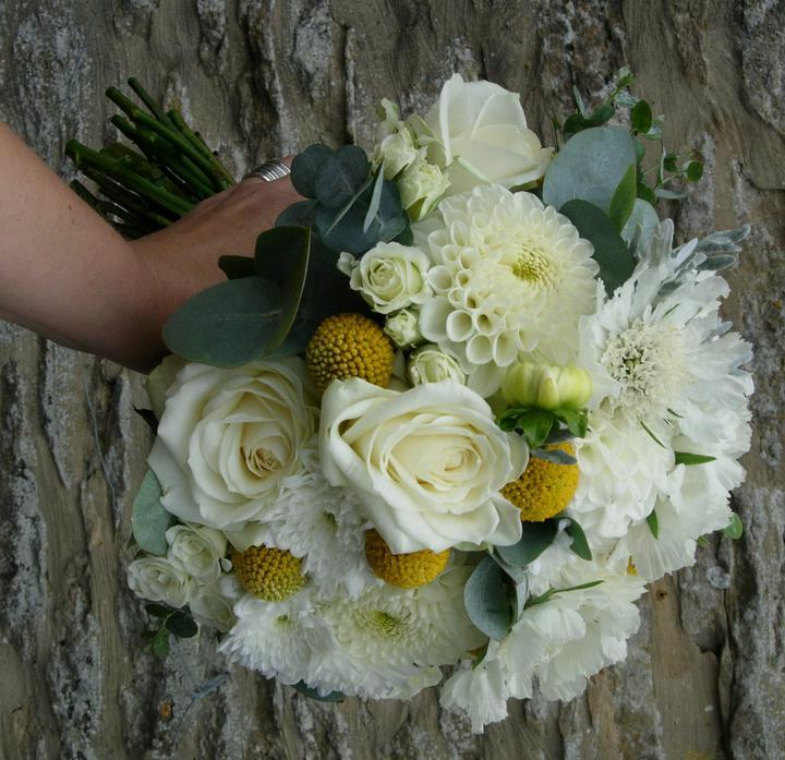 Chryzantemy ako svadobna kytica - Obrázok č. 4