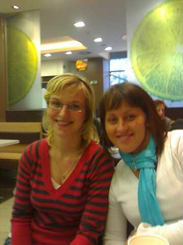 Andrejka ( Panda ) a moje malickost ( martinka.t ) bylo to super.. a prokecaly jsme cely den:)