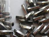 kovová farba korálok, nepoužité,
