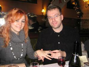 nase zasnuby v Ríme december 2007