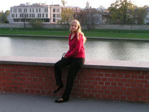 Na svatební cestě jsme byli v Krakowě...