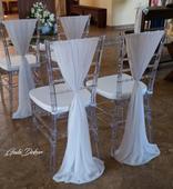Transparent Chiavari stoličky,