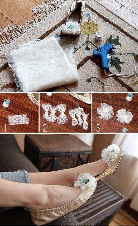 Vytvorte si same svoje topanocky - DIY - Obrázok č. 27