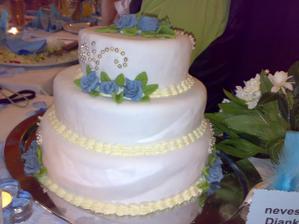 ...torta z cukrarskeho ucilista v BA ...aj ked nebola podla vzoru...ODPORUCAM...