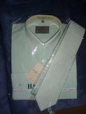 košile a k ní padnoucí kravata