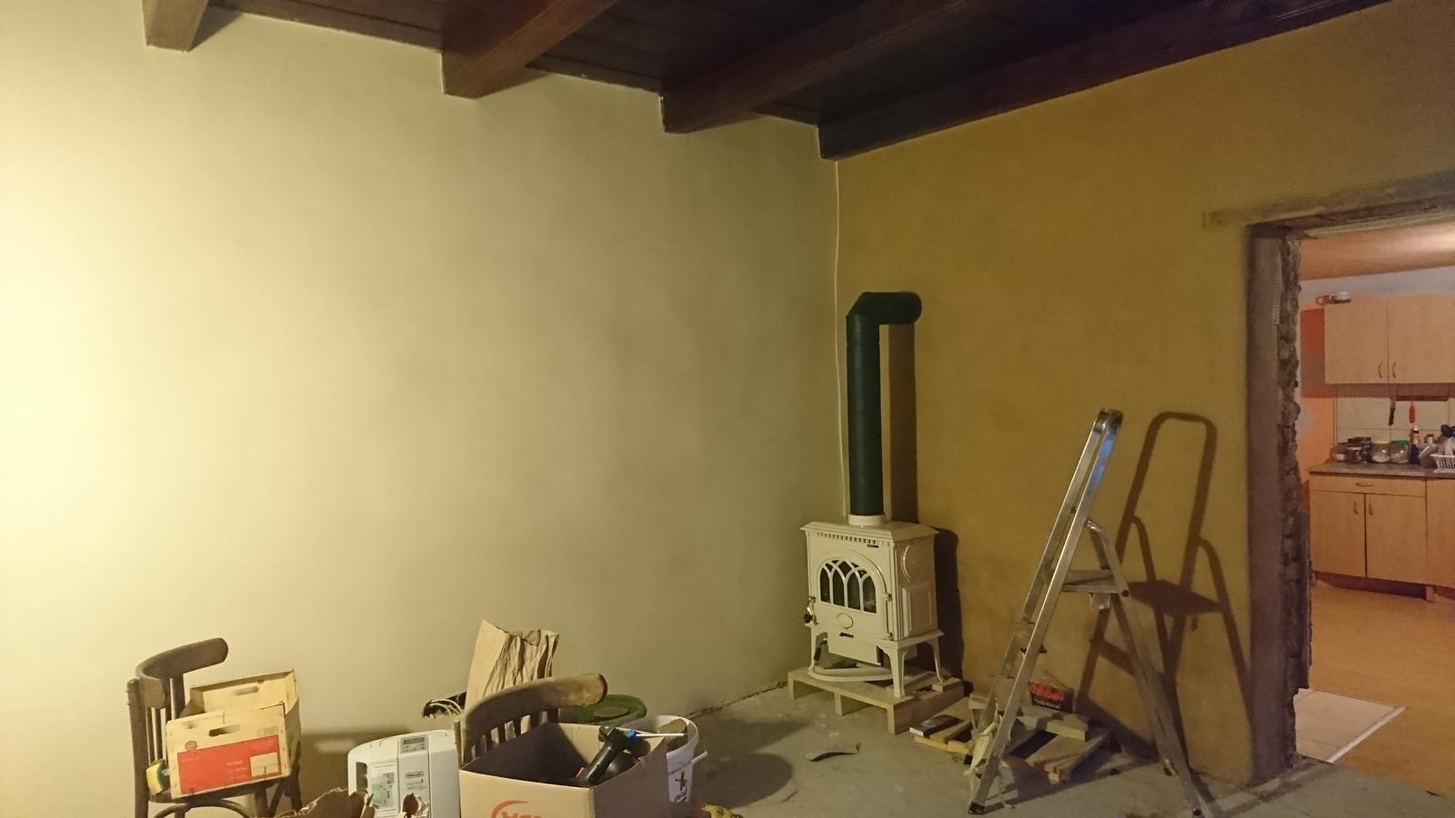 Náš domček - Toto bude obývačka