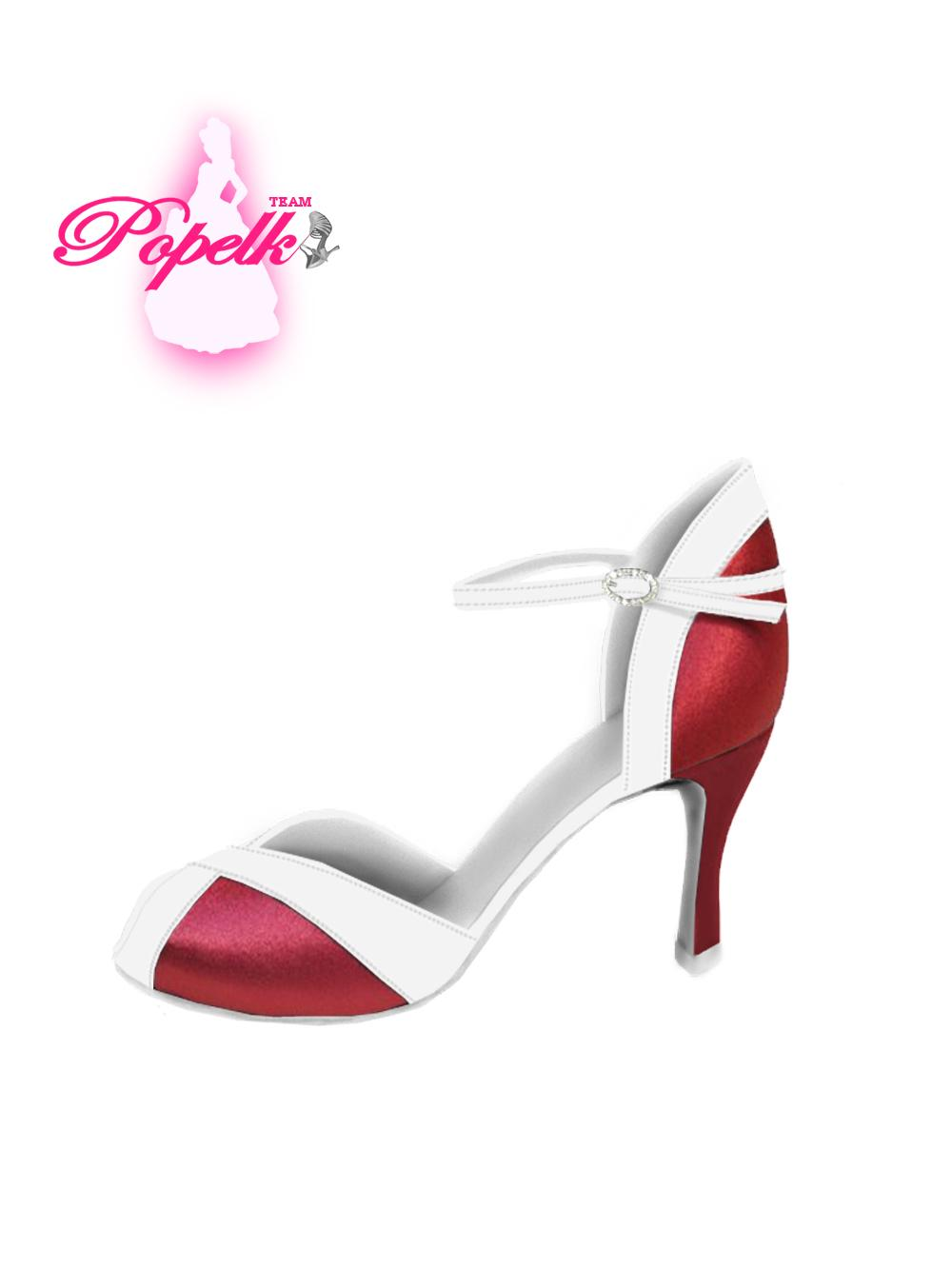 Svadobné topánky s úpravou na želanie - inšpirácie bordó, hnědá, čokoládová - Obrázok č. 4