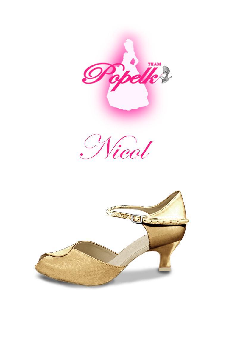 Svadobné topánky navrhni a uprav si ich podľa seba - inšpirácie zlatá - Model Nicol