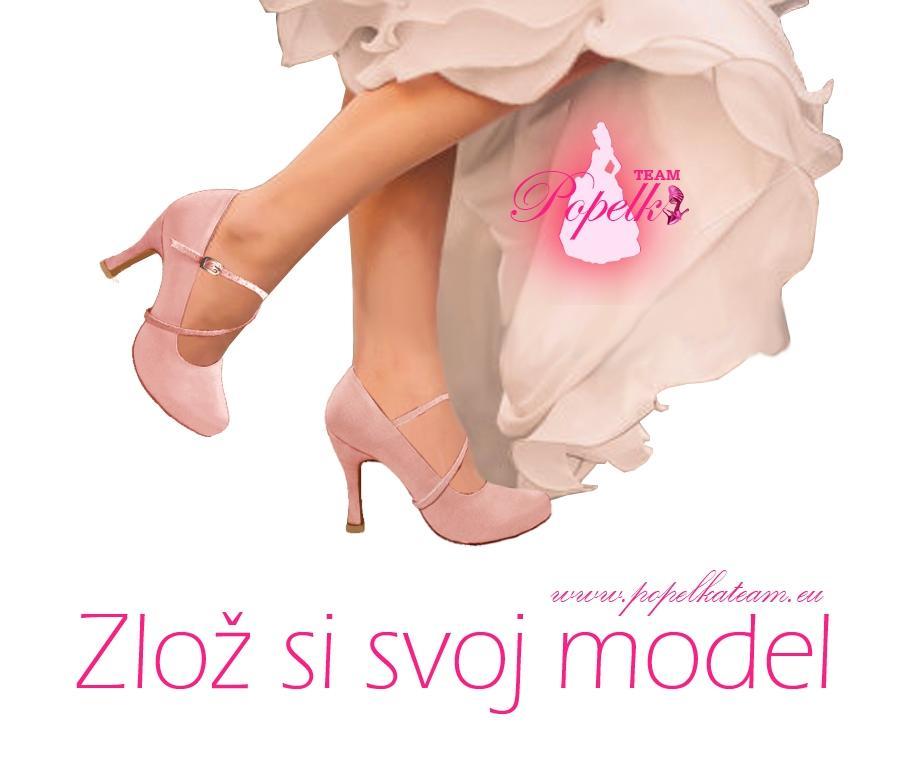 Svadobné topánky podľa Teba - inšpirácie ružová, cyklaménová, lososová, nude-telová - Obrázok č. 1