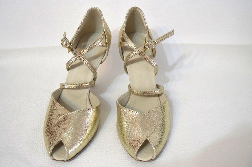 Svadobné topánky navrhni a uprav si ich podľa seba - inšpirácie zlatá - Zlaté svadobné topánky -  exkluzívna zlatá Tstyl model Nicol - úpravy podľa želania klientky