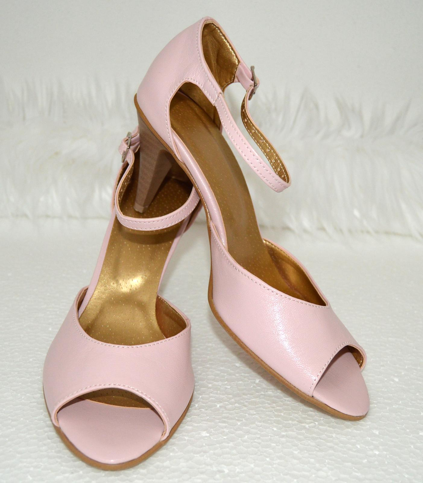 Výpredaj - Veľ. 37,5 eko koža pink - ružová