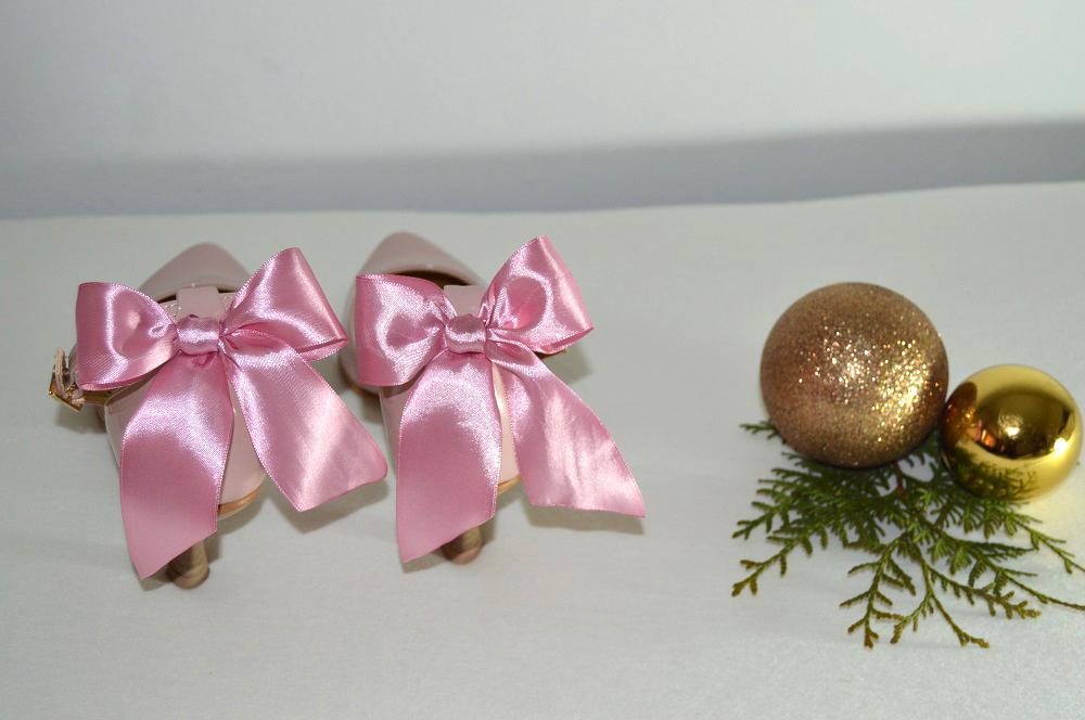 Ružovopúdrové svadobné topánky K-styl - Obrázok č. 4