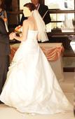 svadobné šaty La spoza leganes 42, 42