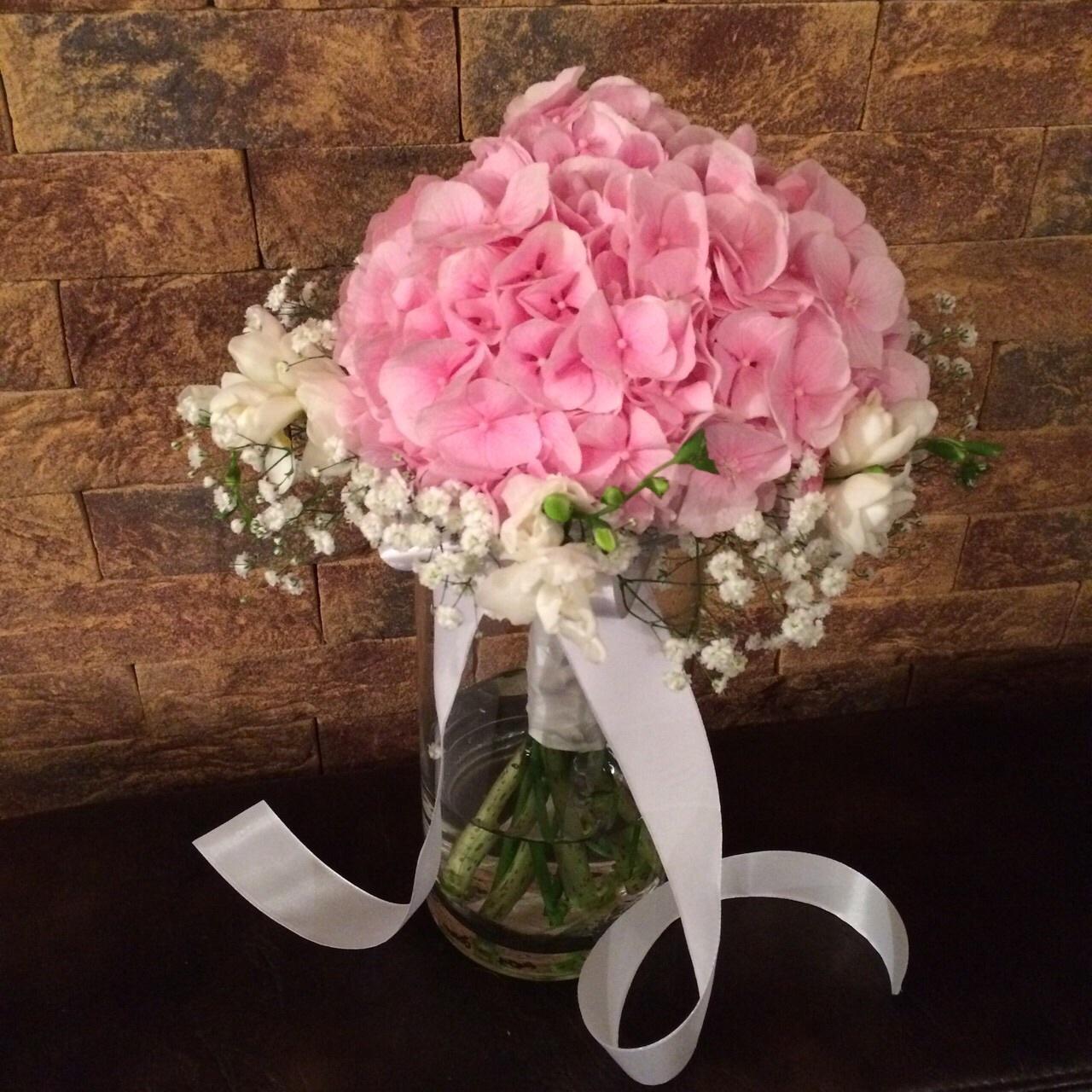 Paulína{{_AND_}}Tomáš - Moje svatební kytice .... vysněná a jednoduše krásná ...