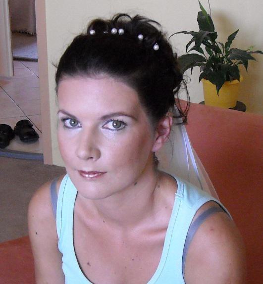 Janka Horňáková a Jožko Krajan - skuska: make up a vlasy