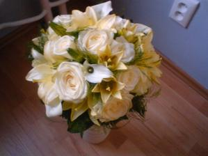 moja kytica, den po svadbe