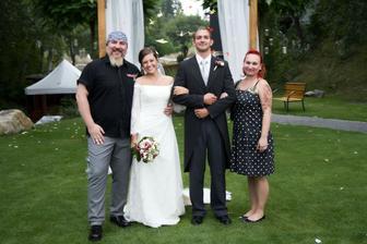 pan s bradou - najlepsia druzicka na svete :)