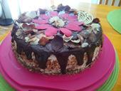 čokoládový dort s mascarpone s kvalitní čokoládou,
