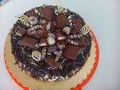slavnostní dort s mascarpone ,