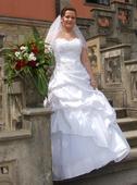 Dokonalé svatební šaty 38-42, 40