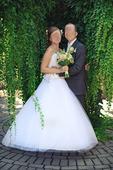 Svadobné šaty MS Moda Dominique, 40