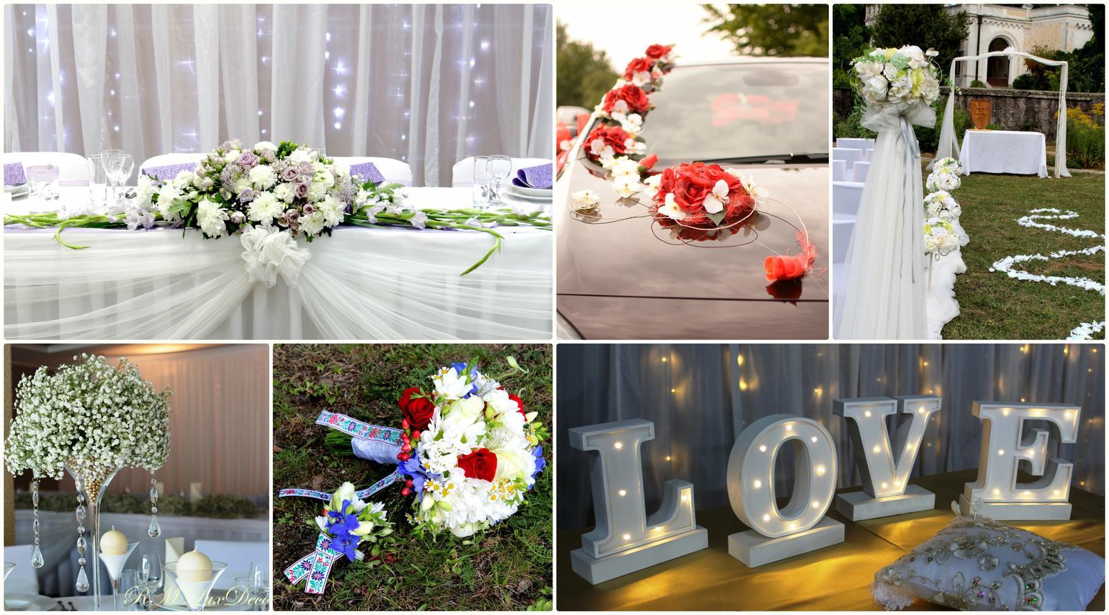 """Výzdoba na svadbu a iné príležitosti - """"Daj každému dňu šancu, aby sa stal najkrajším dňom tvojho života""""!"""" Užite si Váš deň naplno a celú starosť nechajte na nás. Aranžérsko-dekoračná agentúra LuxDecor Vám pripraví vysnívanú svadbu ❤️"""
