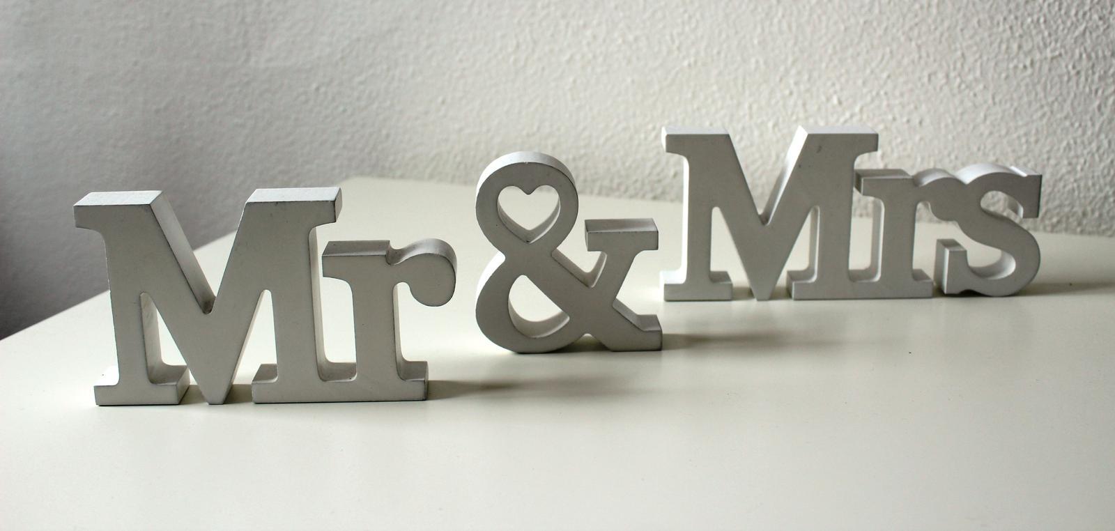 Mr & Mrs - prenájom - Obrázok č. 1
