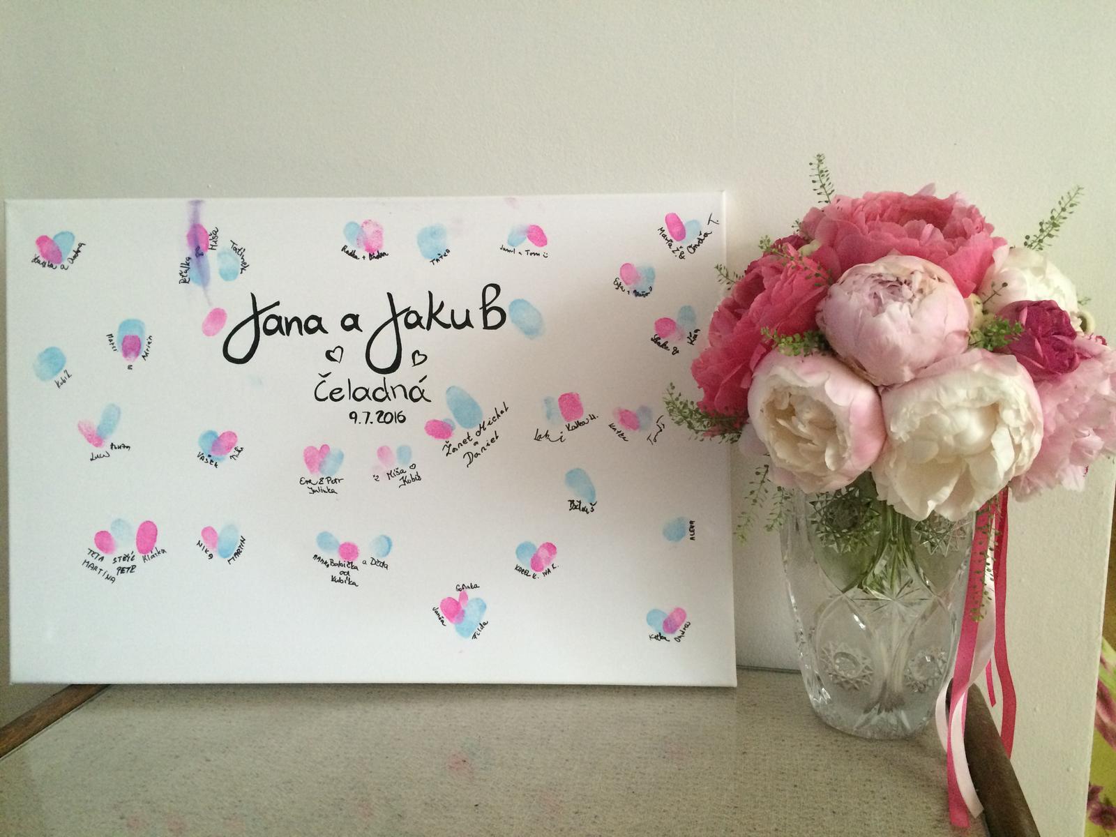 """Janea{{_AND_}}Ozzy - Úžasná kytice a ,,svatební kniha"""" :-)"""