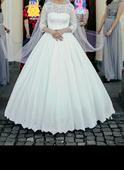 Romantické  svadobné šaty , 38