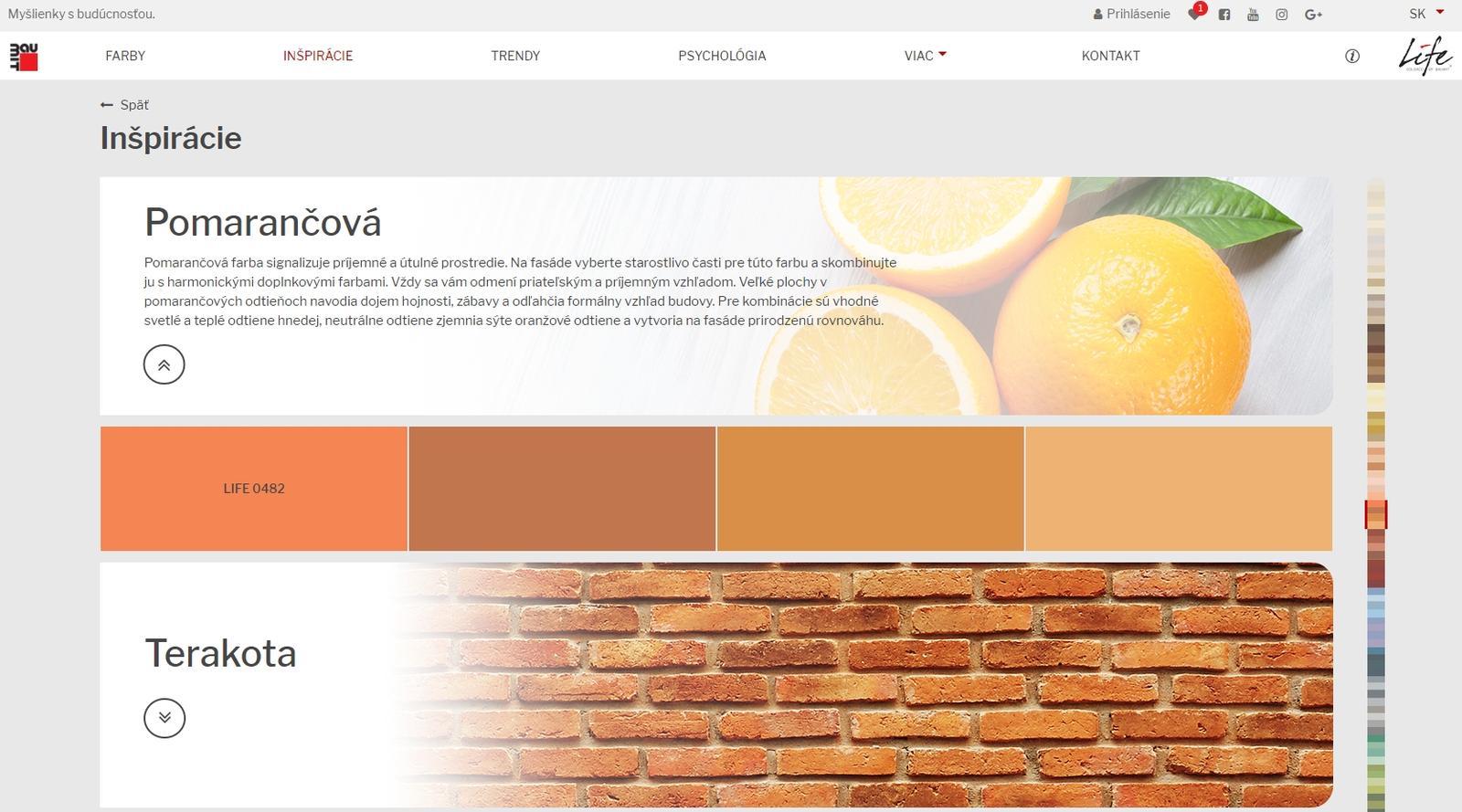 Inšpirácie a výber farby pre fasádu - Obrázok č. 4