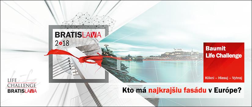 Klikni - Hlasuj - Vyhraj! - Európska fasáda roka Life Challenge 2018