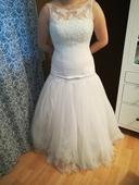 Svatební šaty vel. 38-42, 40