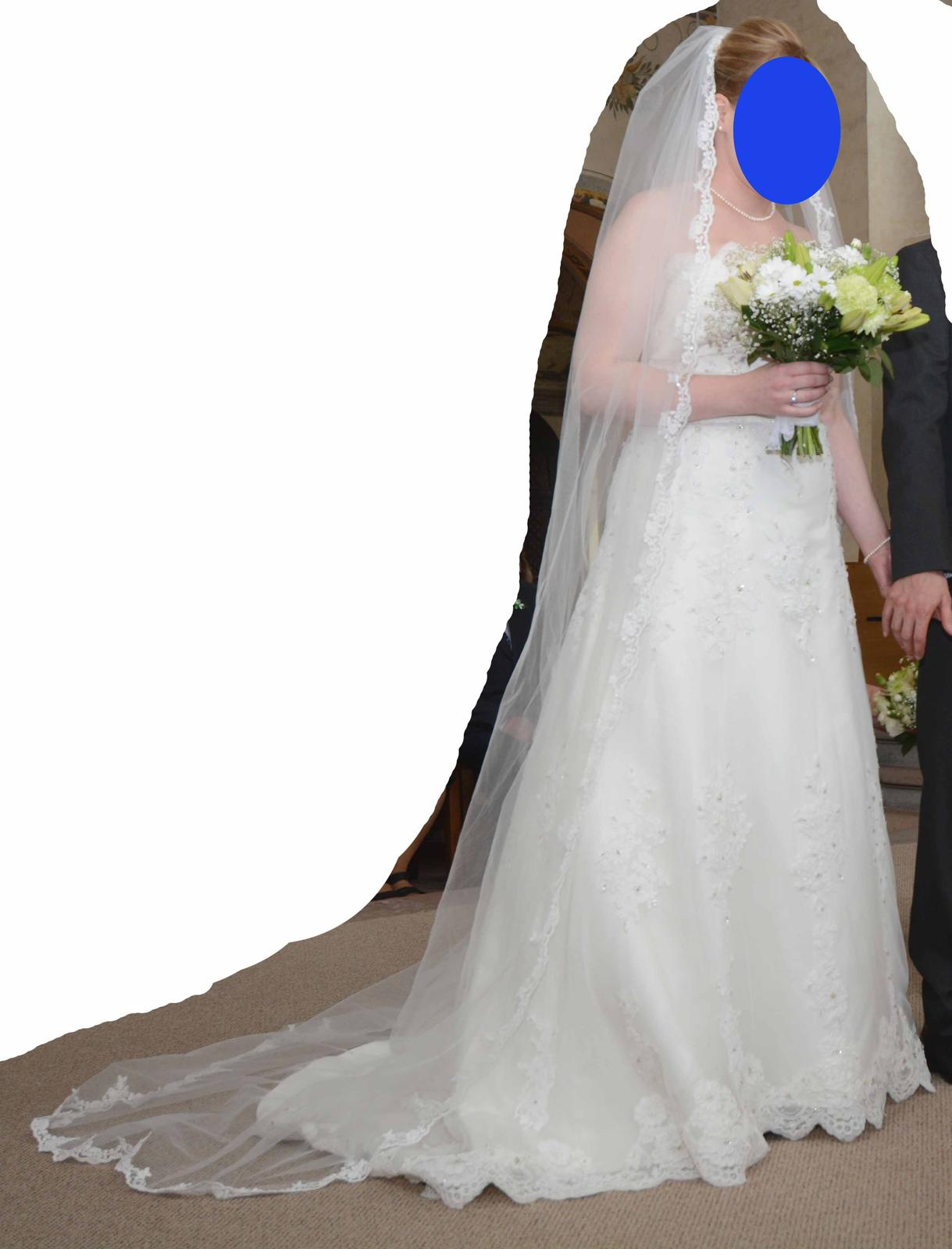 Svatební šaty Daphne Deana (vel. 38-42) - Obrázek č. 3