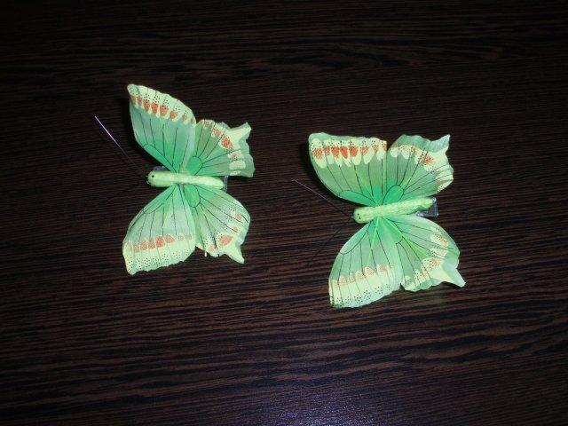 Takéto mám predstavy - motýliky na ozdobu torty